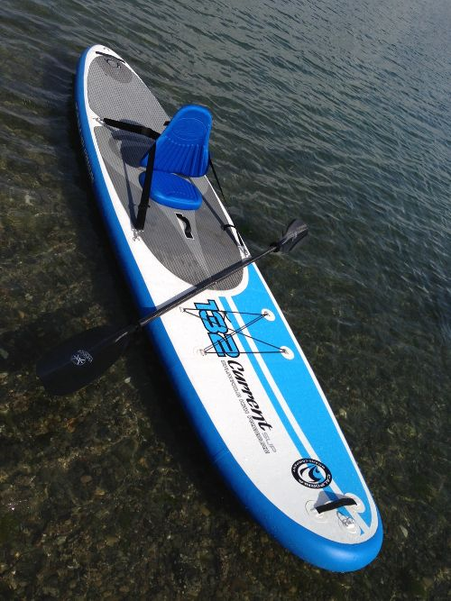 California Board Company 132 Current Inflatable Sup Review