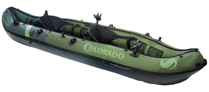 Coleman Colarado 2 Peron inflatable fishing kayak Review