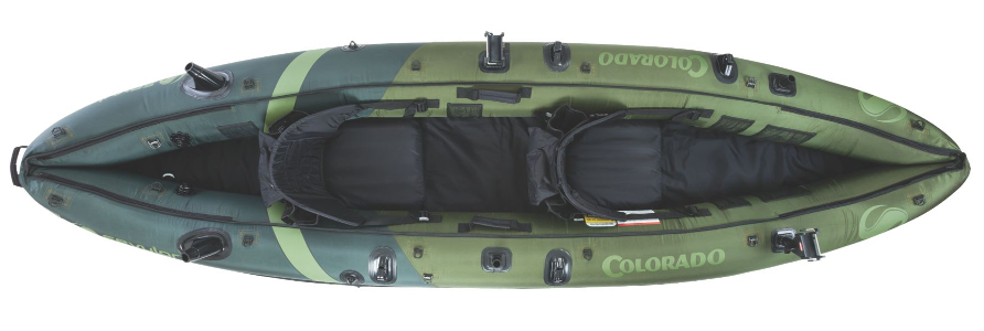 Coleman Colarado inflatable fishing kayak Review