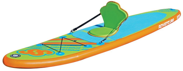 SPORTSSTUFF 1030 Adventure inflatable stand up paddle board review