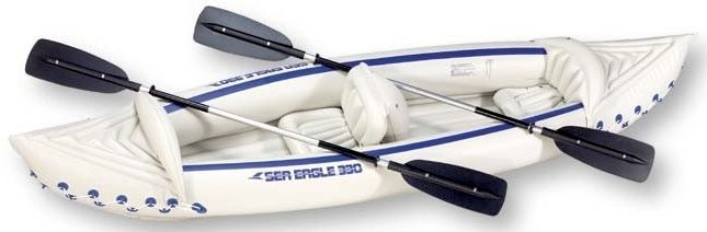 Sea Eagle SE330 2 Person Inflatable Kayak Review
