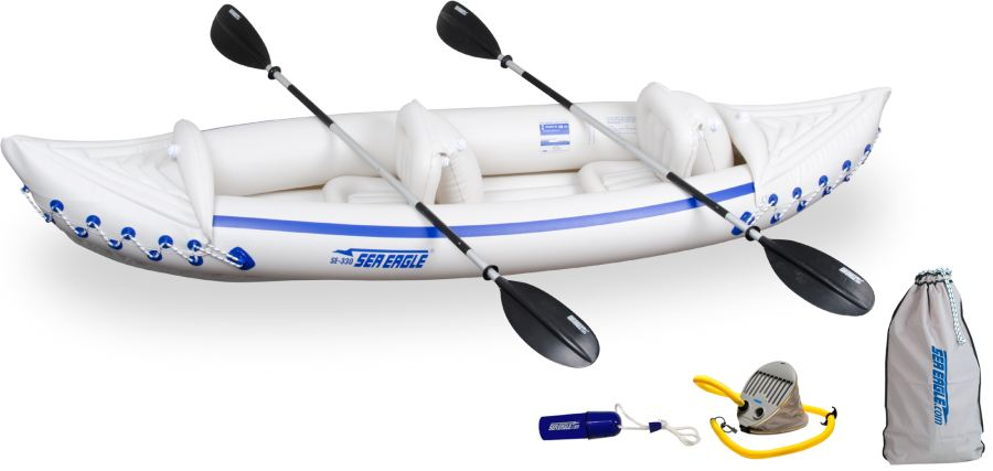 sea eagle 370 inflatable kayak review