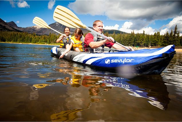 Sevylor Coleman Big Basin Inflatable Kayak Review