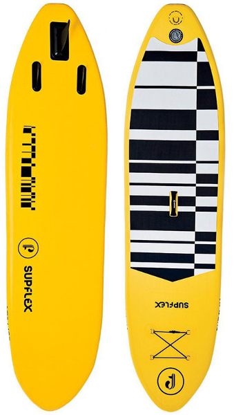 Supflex 10' All-Around inflatable SUP board Review