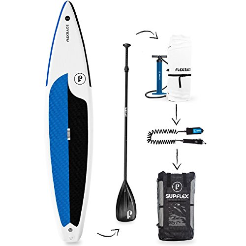 """Supflex Flexrace 12'6"""" Inflatable SUP Board Review"""