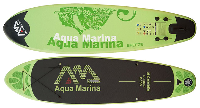 Aqua Marina Breeze inflatable stand up paddle board review