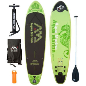 Aqua Marina Breeze inflatable Standup Paddle Board Review