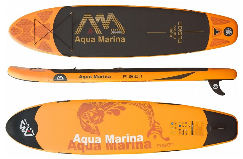"""Aqua Marina Fusion 10'10"""" inflatable stand up paddle board review"""