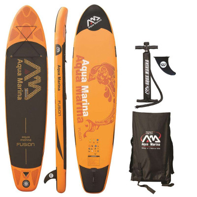 Aqua Marina Fusion inflatable SUP Board review