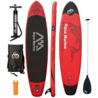 Aqua Marina Monster inflatable stand up paddle board review