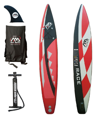 Aqua Marina Race 14' Competitive Inflatable Stand-up Paddle Board Review