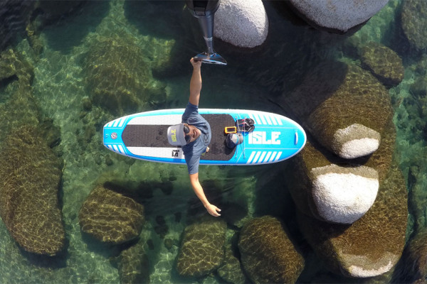 ISLE 10' Airtech All-around inflatable stand up paddle board review