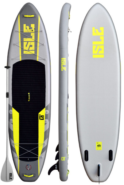 ISLE 11 Explorer Airtech Inflatable Stand up Paddle Board review
