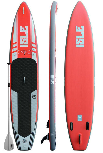 """ISLE Airtech 12'6"""" Touring Inflatable stand up paddle board review"""