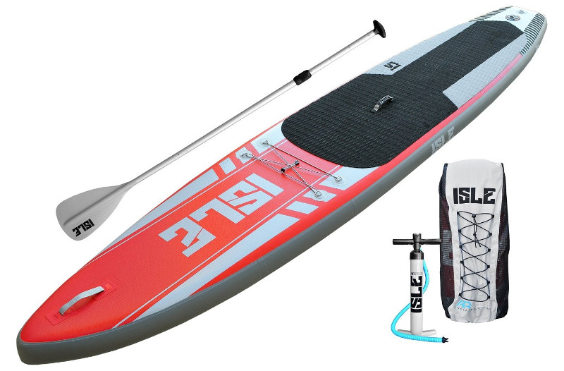 """ISLE Airtech 12'6"""" Touring Inflatable SUP Board Review"""