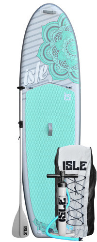 ISLE Airtech 10'4″ Women's Inflatable Stand up Paddle Board Review