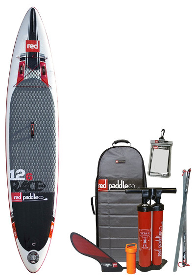 "Red Paddle Co RACE 12'6"" inflatable stand up paddle board review"