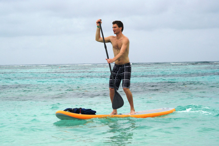 Solstice Bali inflatable SUP board review