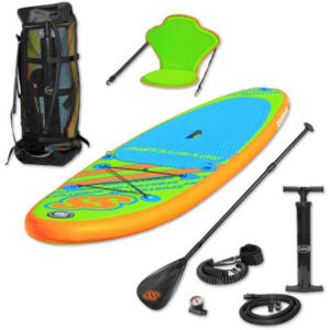 Sportstuff 1030 Adventure inflatable paddle board review