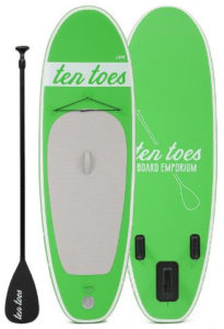 Ten Toes 8' Emporium theNANO inflatable stand up paddle board review