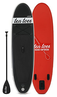 Ten Toes Weekender inflatable SUP Board Review