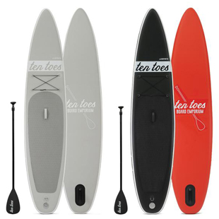 Ten Toes theGLOBETROTTER Inflatable Touring Stand up Paddle board Review