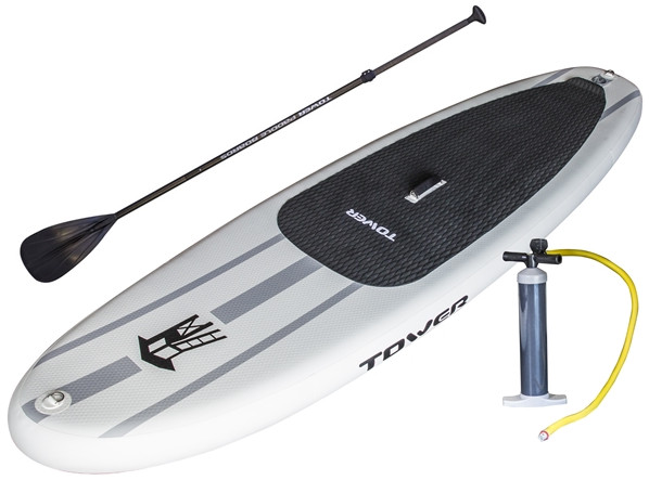 Tower Paddle Boards Adventurer 1 inflatable stand up paddle board Review