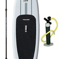 """Tower Paddle Boards Adventurer 9'10"""" Inflatable stand up paddle board review"""