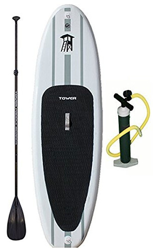 "Tower Paddle Boards Adventurer 9'10"" Inflatable stand up paddle board review"