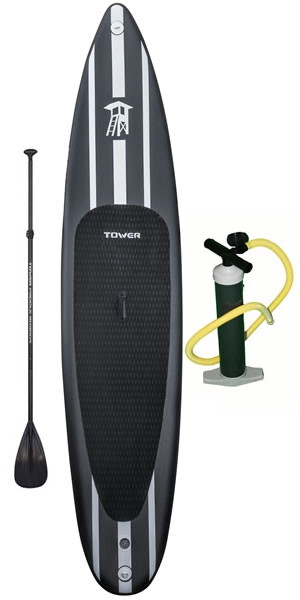 "Tower Paddle Boards iRace 12'6"" inflatable Stand up paddle board review"