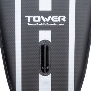 Tower iRace inflatable SUP board - central fin
