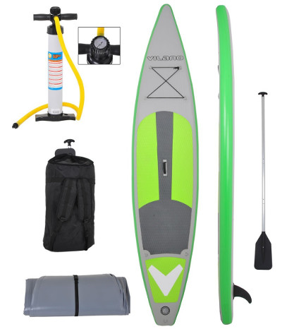 Vilano 12' Inflatable Touring - Race SUP Board review
