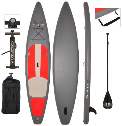 Vilano 12' Inflatable Touring / Race SUP Stand Up Paddle Board review
