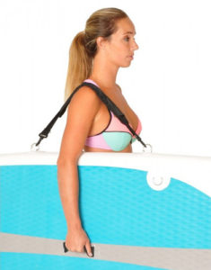 Vilano Journey 10 inflatable stand up paddle board - Strap