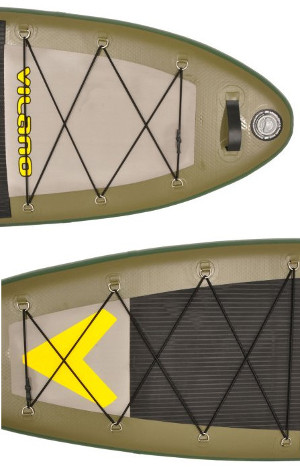 Vilano Sport-Fishing inflatable SUP - D rings