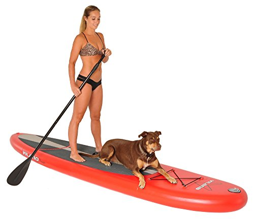 Vilano Voyager 11ft inflatable stand up paddle board review