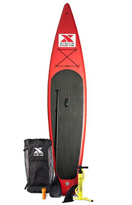"XTERRA Touring 12'6"" Inflatable Sup Stand-up Paddle Board review"