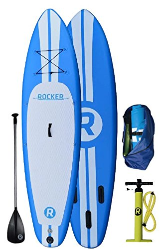 iRocker 10' inflatable stand up paddle board review
