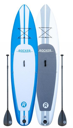 iRocker Paddle Board 10' inflatable stand up paddle board review