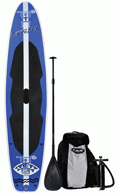 RAVE Sports Outback Inflatable Stand up Paddle Board Review