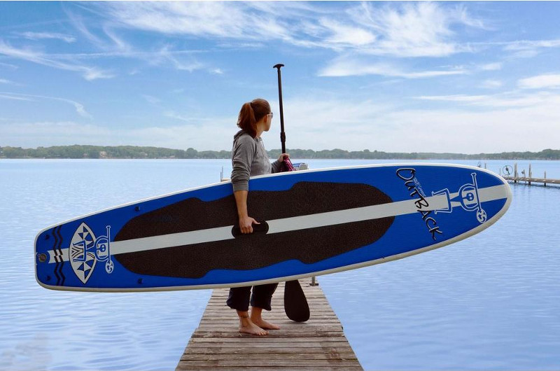 RAVE Sports Outback iSUP board review