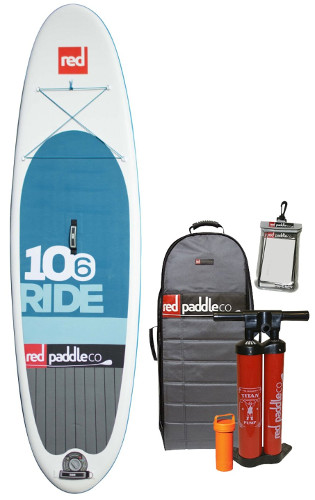 Red Paddle Co Ride inflatable stand paddle board review