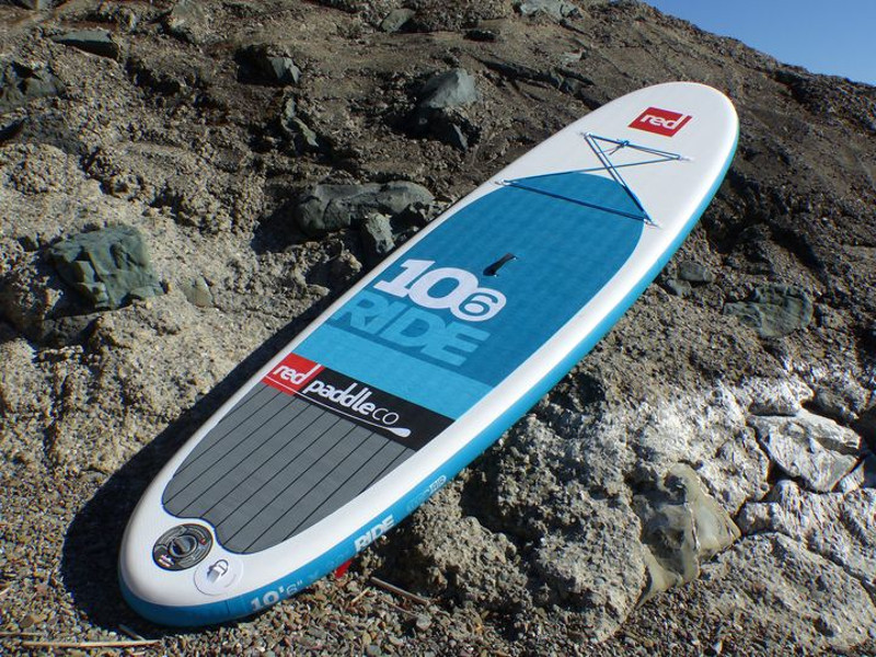 Red Paddle Co Ride inflatable stand up paddle board review