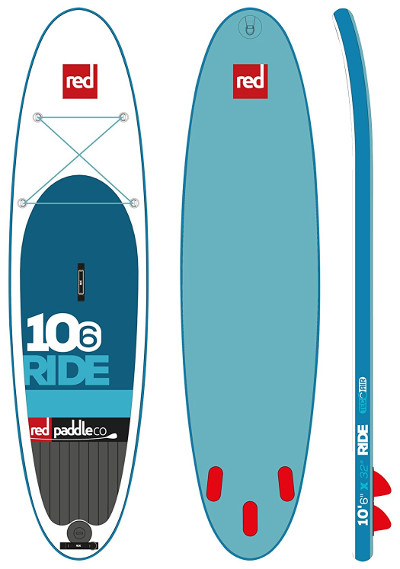 """Red Paddle Co Ride 10'6"""" inflatable stand up paddle board review"""
