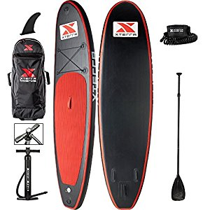Xterra Paddle Boards >> Xterra 10 Inflatable Stand Up Paddle Board Review Waveschamp