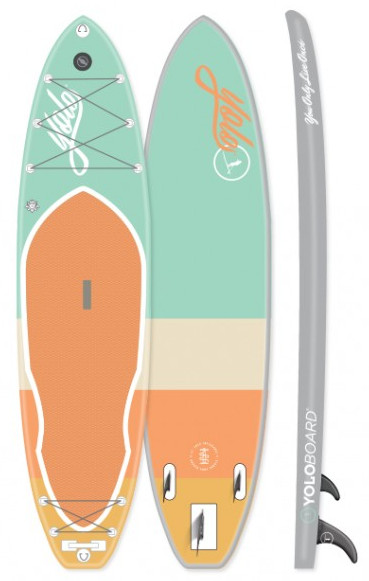 YOLO Board Mint 11' Inflatable Stand up Paddle Board Review