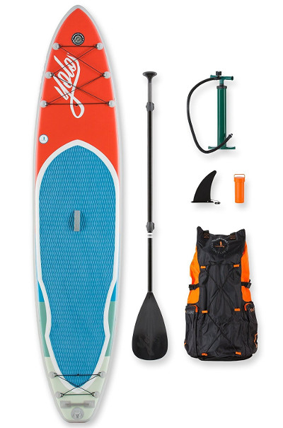 YOLO Board® Red 12' Inflatable Stand Up Paddle Board Review