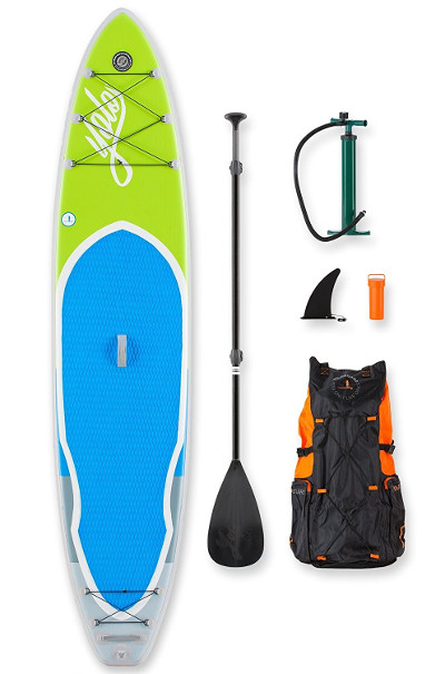 YOLO Board Lime 12' Inflatable Stand Up Paddle Board review