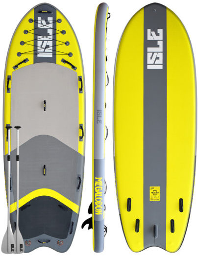 ISLE Megalodon Airtech Inflatable Stand up Paddle board review