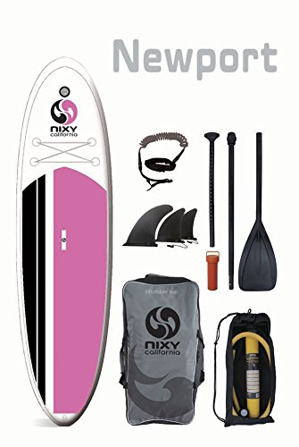 "NIXY Newport 10'6"" All Around Inflatable SUP Board review"